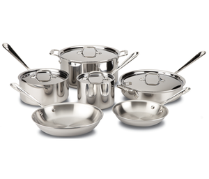 All-Clad Stainless 10 Piece Set