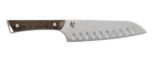 Shun Kanso Hollow Ground Santoku (SWT0718) - MyToque