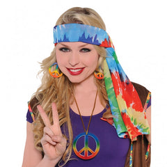 60's Hippie Headscarf