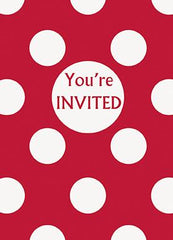 Polka Dot - Invitations