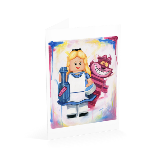 Alice in Wonderland Card