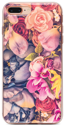 Vintage Floral iPhone Tok