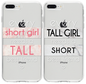 Short Girl - Tall Girl  BFF Páros 2DB iPhone Tok
