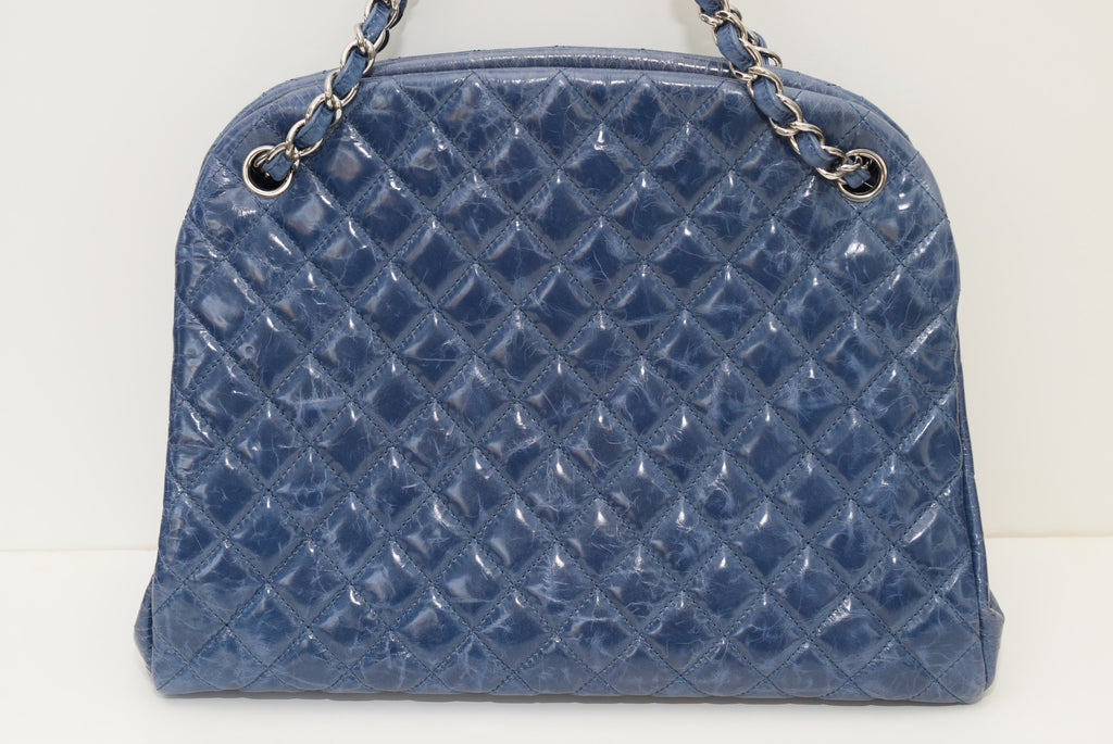 CHANEL Caviar Quilted Large Just Mademoiselle Bowling Shoulder Bag