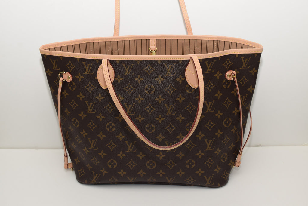 LOUIS VUITTON Brand New!!! Never Worn Neverfull Mm In Lining - Date Code Ca3185 - Made In Spain Shoulder Bag