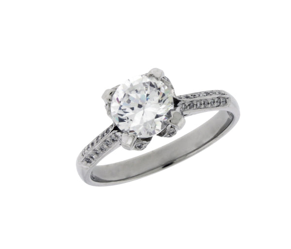 Tacori 2536 Diamond Engagement Ring In Platinum Fits 1CT Round Size 6.5