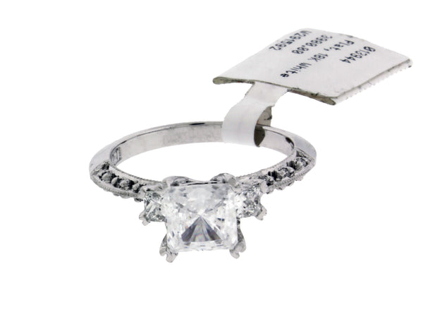 Tacori HT 2200 .31 carat diamond Engagement ring in Platinum fits 1ct princess cut