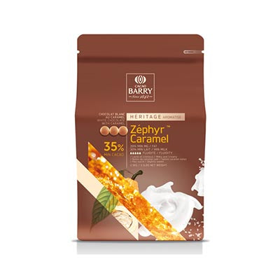 Cacao Barry 35% 'Zéphyr Caramel' White Chocolate Callets