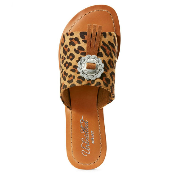 Ariat® Ladies Unbridled Ellie Leopard Print Sandals 10027423