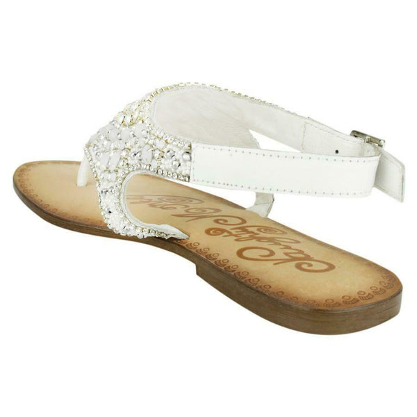 Naughty Monkey Ladies Ice Berg Sandals NMSA0232-White