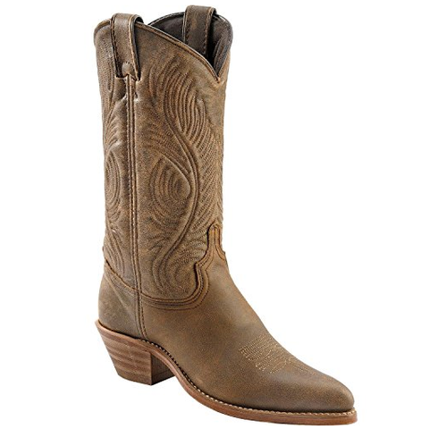 Abilene Ladies Distressed Cowhide Western Boots 9059 - Wild West Boot Store