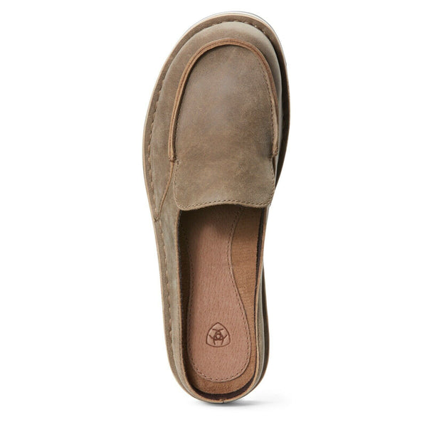 Ariat® Ladies Cruiser Slide Brown Bomber Slip-On Shoes 10027350