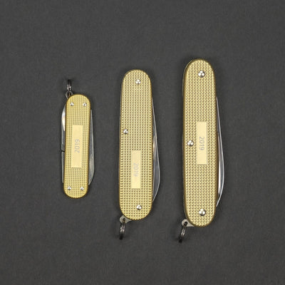 Knife - Victorinox Swiss Army Knife Alox - Champagne (2019 Limited Edition)