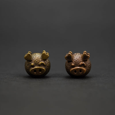 Lanyard Bead - Santi Se Beads Piggy (Custom)