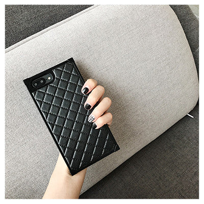 Luxury Diamond Quilted iPhone Case