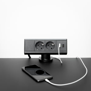 Desktop power strip by Kondator