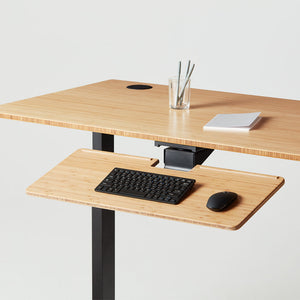Jarvis adjustable keyboard tray