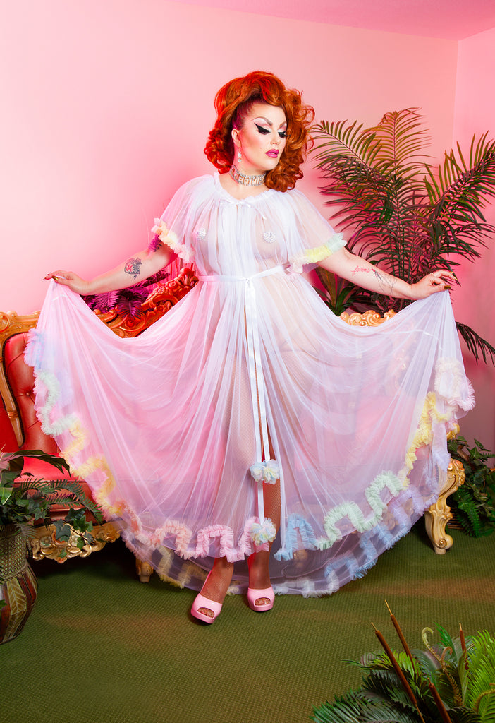 Showgirl Special Dressing Robe