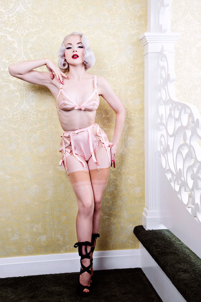New Look Grosgrain Garter Belt