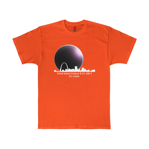 Total Eclipse of the Sun St. Louis Missouri T-Shirt in 7 Colors Sizes S-5XL