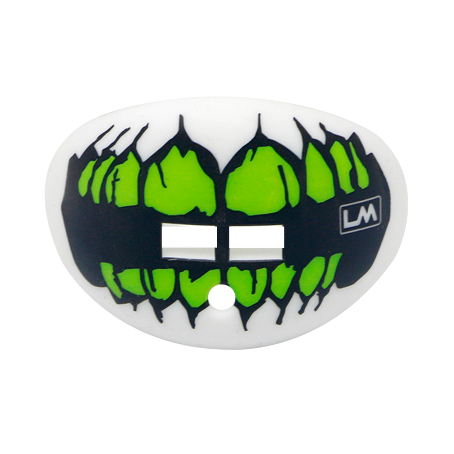 SKULL TEETH Fluorescent Green Hawk 850867006789