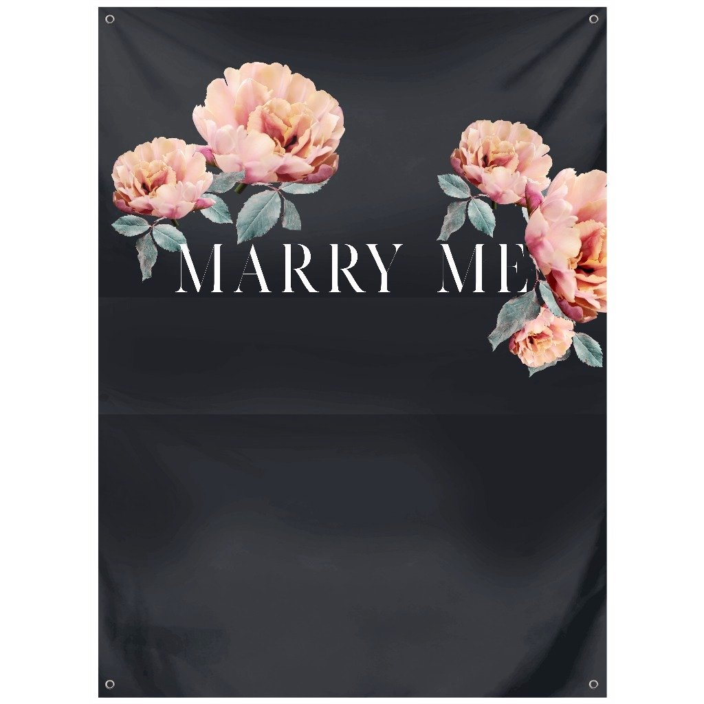 Marry Me Backdrop - Lindsey Mueller Photography
