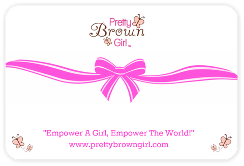 Pretty Brown Girl Gift Card
