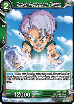 BT1-069 Trunks Protector of Children