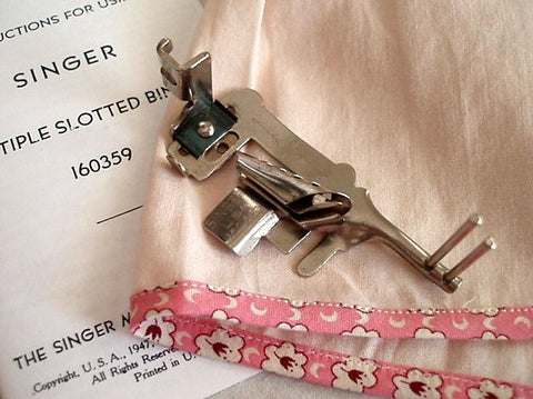 Multi-Slotted Binder with Guide Pins, (Vintage)