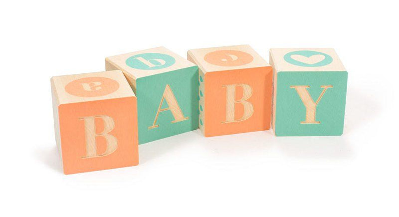 Uncle Goose Handcrafted Baby Blocks