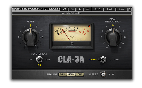 Best VST plugin for mixing Bass CLA 3A by Waves