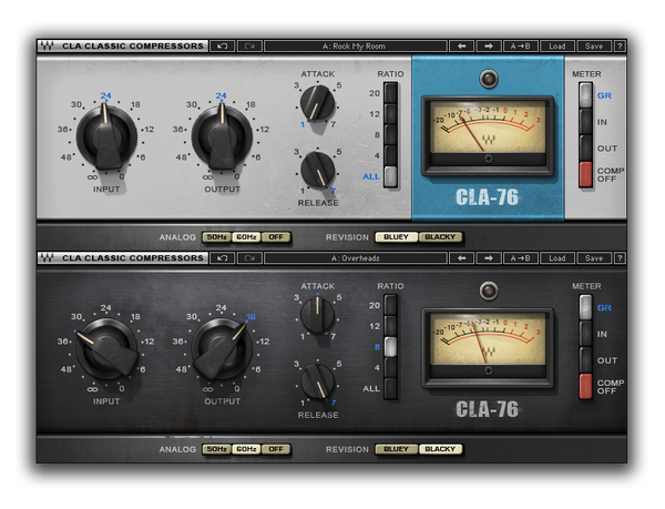 Best VST plugin for mixing Bass CLA-76 Compressor and Limiter by Waves