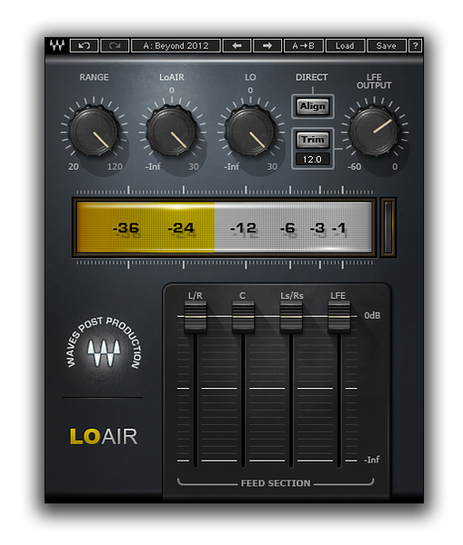 Best VST plugin for mixing Bass LoAir by Waves