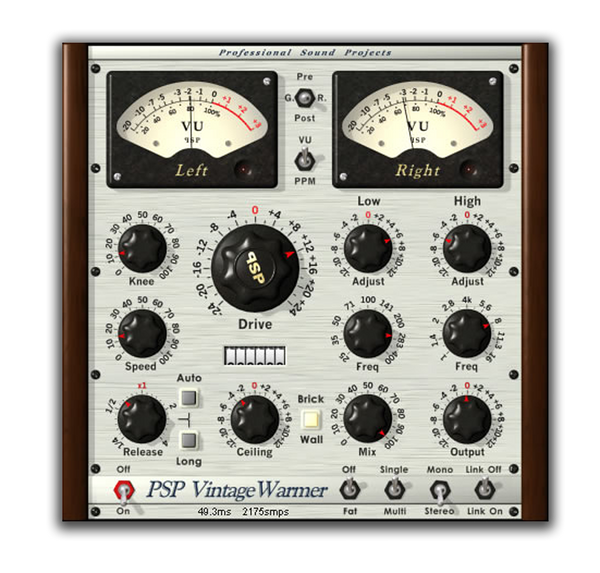 Best VST plugin for mixing Bass PSP Vintagewarmer by PSP