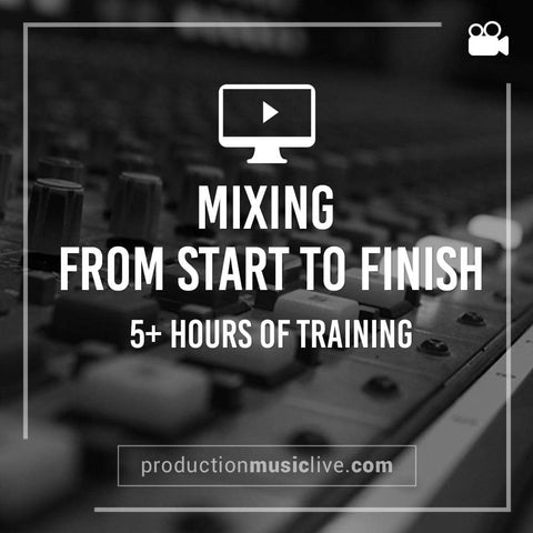 How to mix a track from start to finish course