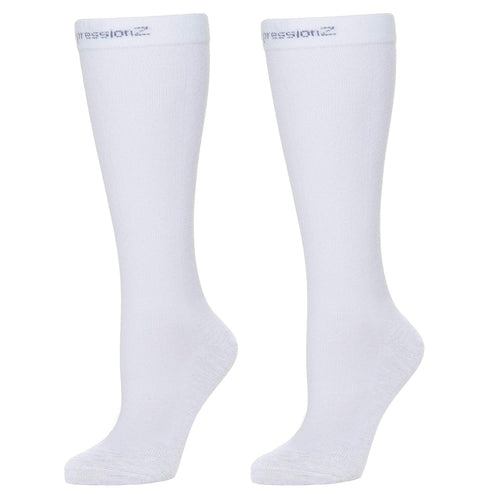 Compression Socks (20-30 mmHg) - White
