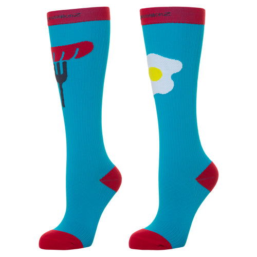 Compression Socks (Fun Patterns 20-30mmHg) - Brekkie