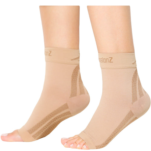 Foot Sleeves - Nude