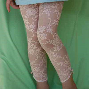 Lace Footless Tights for Babies and Girls *NEW* by Gigi's Apparel