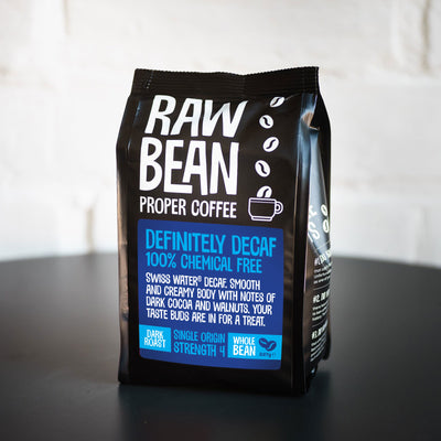 Single Origin Coffee Beans - Definitely Decaffeinated Dark Roast