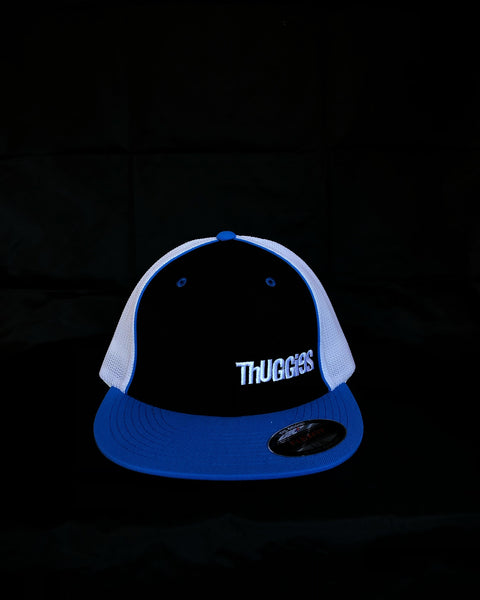 Thuggies Black & Blue Trucker Hat