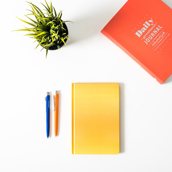 DG Notebook Yellow