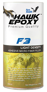 F3 Light Density Adhesive Micro Fiber Filler