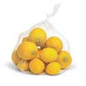 Yellow Lemons in Bag