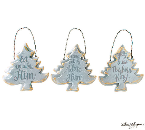 Tree Message Ornament