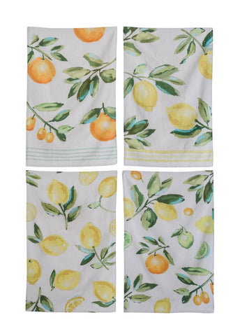 Towel w/Citrus Fruit