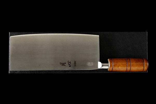 Gesshin Chinese Cleaver- Small  with Round Handle