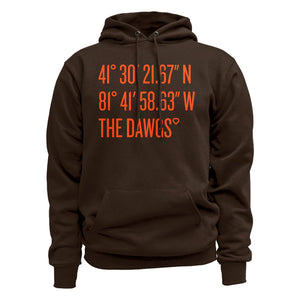 Coordinates The Dawgs Brown Hoodie