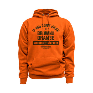 You Don't Matter Cleveland Football Hoodie