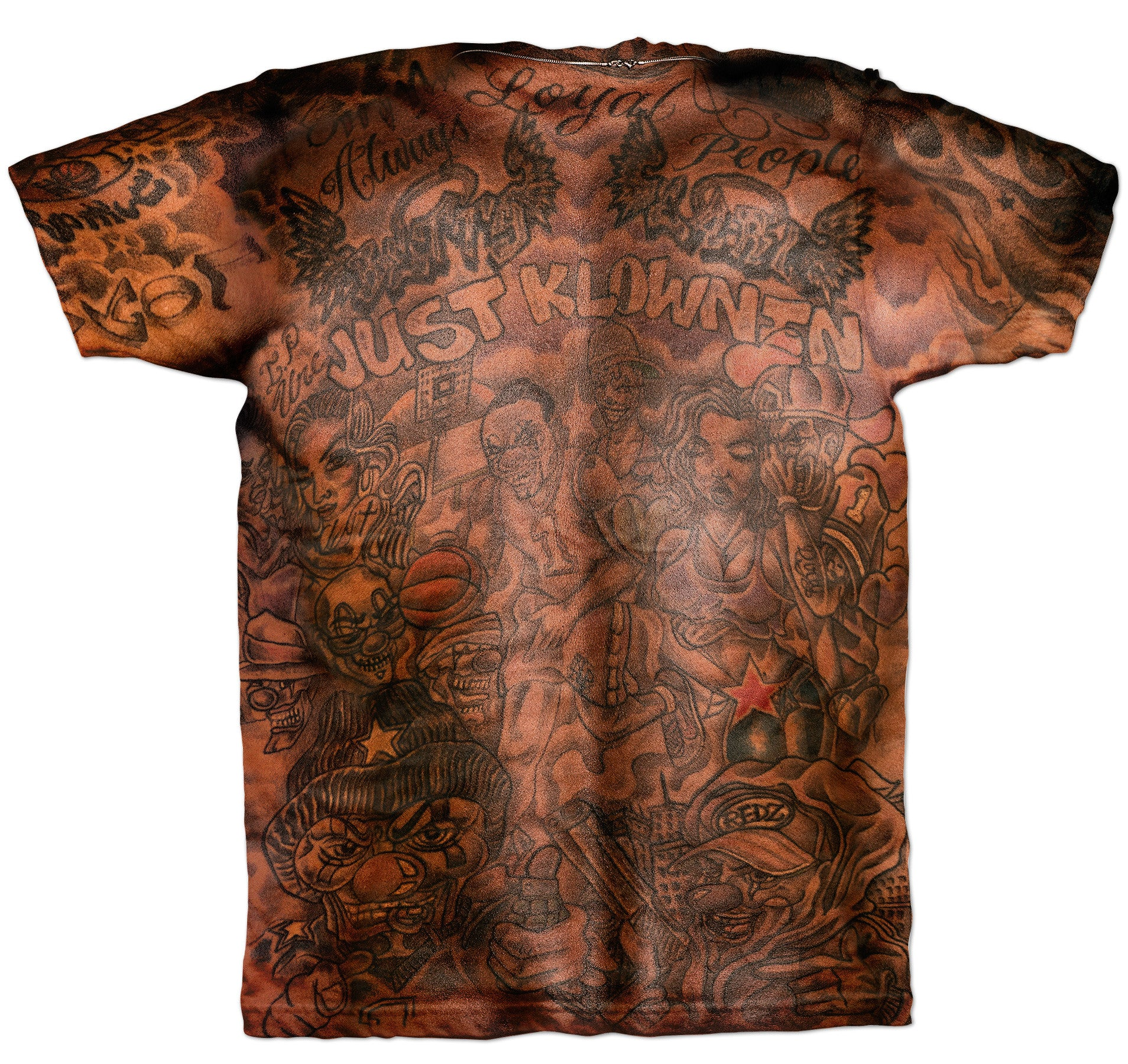 JR Smith Tattoo Shirt from Fresh Brewed Tees